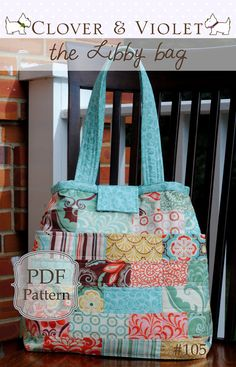 the Libby diaper or travel bag great #diy #tutorial on how to make this bag - Adorable