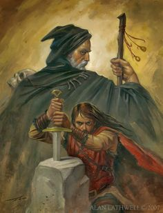 king arthur and merlin King Arthur Legend, Legend Of King, King Arthur History, Merlin E Arthur, One Punch, Mago Tattoo, Mists Of Avalon, Roi Arthur, Sword In The Stone