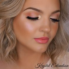 Soft peach Makeup Tutorial - Makeup Geek