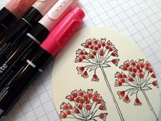 A Stamper's Diary.............. Pressing On.......: IT'S A TUTORIAL!! MARKER LAYERING!!