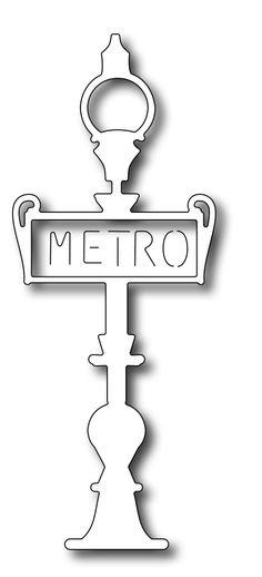Frantic Stamper Precision Die - Metro Sign