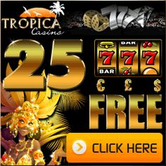 Get a $/£/€ 25 Free Casino Chip when signing up a new real money account.    A maximum of 1 bonus per household/computer/person.    The minimum wagering before cashing out is 50 times the bonus.    The following games have been excluded from the promotion: Baccarat, Roulette, Craps,    Keno, Double Up and Progressive Slot Games.