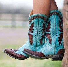 "Cowgirl boots.    "":O)"