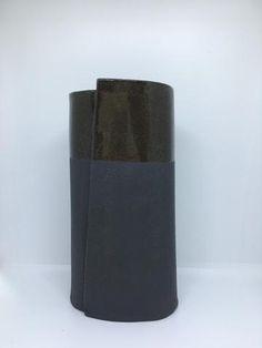 Ceramics - Black Dip Vessel (medium)