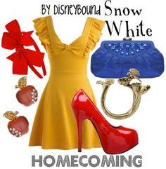 Disney's Snow White theme outfit