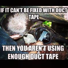 Like #BernardTheMechanic at www.facebook.com/BernardTheMechanic or follow at www.instagram.com/BernardTheMechanic  #mechanic #mechaniclife #mobilemechanic #mechanichumor #mechanichumour #mechanicmemes  #funny mechanic, mechanic life, mobile mechanic, mechanic humor, mechanic humour, mechanic memes, funny, duct tape