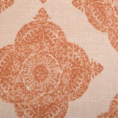 Madder Coral Collection Fabric 21038-107  John Robshaw Collection for Duralee