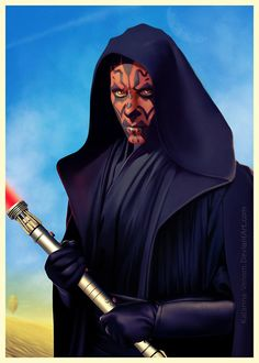 Ray Park always got charming roles. So, it is Tatooine. too colorful I guess Hope my guild will love it. MAUL at Tatooine Darth Maul, Star Wars Poster, Star Wars Art, Star Trek, Star Wars Girls, Love Stars, The Villain, Sith, Marvel Movies