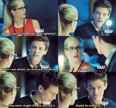 Arrow - Felicity & Barry (Season 2) I need to watch this episode! (I haven't seen it before.)