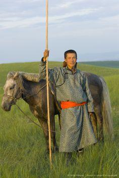Inner Mongolia Horseman Who wants to go riding?