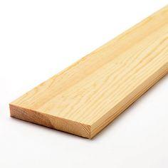 Kvistfritt virke som är hyvlat på alla fyra sidor kallas planhyvlat (PLH).