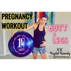 AWESOME prenatal booty, hamstring and leg workout!