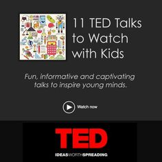 Science Inspiration for Kids: 11 TED Talks to Watch with Kids