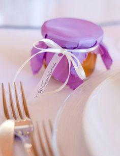 Gastgeschenk: Selbst gemachte Marmelade zur Hochzeit