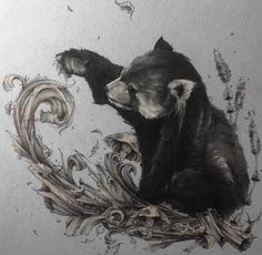 Amazing Animals Drawings by British Artist Solly Solwhiteside