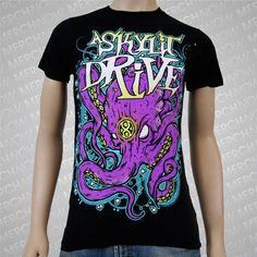 "A Skylit Drive ""Octopus"" shirt from MerchNOW"