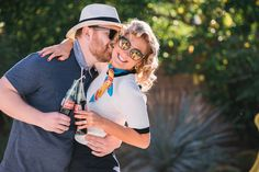 Vintage Inspired Engagement Photos in Palm Springs   Randy   Ashley Photography   Jean Dousset Diamonds   Reverie Gallery Wedding Blog