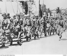 Fallschirmjäger March into Cania ( Hania ) after seven days of severe fighting , 27 May 1941