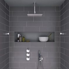 Perfect  Open Shower Concept Is An Excellent Way To Use A Large Bathroom Space