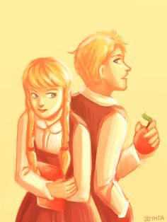 hair the color of lemons by Zethia.deviantart.com on @deviantART