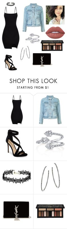 """""""Just because you can."""" by ivickyann ❤ liked on Polyvore featuring 10 Crosby Derek Lam, Imagine by Vince Camuto, Nina Gilin, Yves Saint Laurent, Kat Von D and Lime Crime"""
