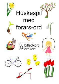 Huskespil med de 120 ord - Bubbleminds Cooperative Learning, Kids Learning, Diy And Crafts, Preschool, Classroom, Teaching, Children, Sprog, Activities