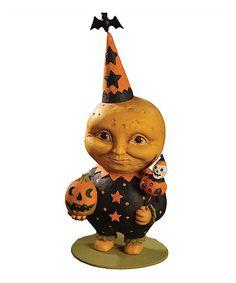 Halloween Moon Man Figurine by Bethany Lowe Designs #zulily #zulilyfinds