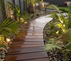 47 imgenes de jardines contemporneos espectaculares Walkways