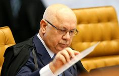 O ministro Teori Zavascki vota pela absolvição de JOSÉ DIRCEU pelo crime de formação de quadrilha, no MENSALÃO.