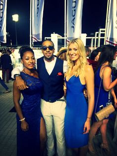 Dubai World Cup: Us and our boy Airs... We did not co ordinate outfits at all.