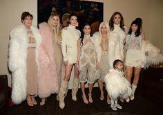 Kris Jenner, Khloé Kardashian, Kendall Jenner, Kourtney Kardashian, Kim Kardashian, North West, Caitlyn Jen...