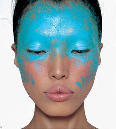 #blue #face