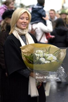 Princess Marie-Chantal Of Greece Opens Festive Shopping Extravaganza, Walten Street, London Dec2007