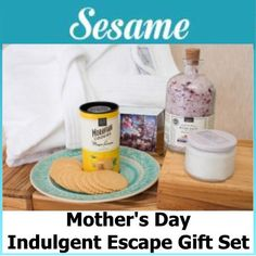 Royalegacy Reviews and More: Sesame Has Lovely Themed Gift Sets for Mom on Mother's Day - Review and Giveaway - ends 5/12 US
