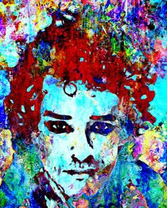 Gustavo Cerati Open edition signed print of painting latino singer Soda Stereo Soda Stereo, Music Rock, Sign Printing, Print Artist, Pop Art, Art Photography, Art Pieces, Portrait, Illustration