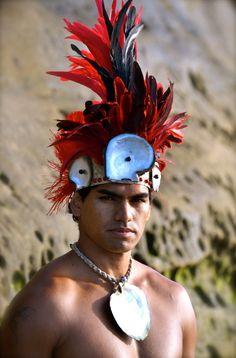 Male Tane Tahitian costume