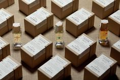 Malbrum Parfums Vol.II on Packaging of the World - Creative Package Design Gallery Seed Packaging, Print Packaging, Packaging Ideas, Typography Inspiration, Packaging Design Inspiration, Creative Industries, Graphic Design Typography, Design Projects, Cool Designs
