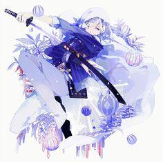 Risultati immagini per yamanbagiri kunihiro Anime Life, All Anime, Anime Guys, Manga Anime, Touken Ranbu, Anime Sword, Vocaloid, Prinz Eugen, Loli Kawaii