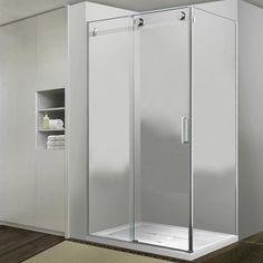 """45"""" x 31"""" Egan Corner Shower Enclosure With Sliding Door"""