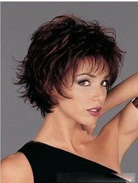 Short Hair Cuts for Fine Hair Cute Hairstyles For Short Hair, Wig Hairstyles, Curly Hair Styles, Short Haircuts, Sassy Haircuts, Medium Haircuts, Hairstyles 2018, Layered Hairstyles, Medium Hairstyles