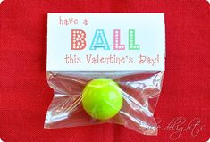 Have a ball valentine