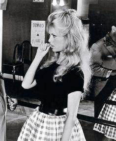 Gingham Girl - You'll Love These Rare Photos of Brigitte Bardot - Photos