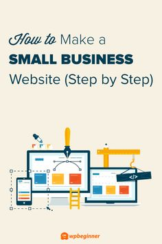Are you looking to make a website for your small business? Here's a step by step guide on how to easily make a small business website without any coding. Making Your Own Website, Design Your Own Website, Website Design Inspiration, Business Website, Business Tips, Computer Lessons, Technology Lessons, Computer Lab, Simple Website
