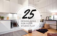 The LuxPad provides 25 expert studio flat ideas to help you effectively design one of the most space-challenging interiors...
