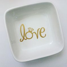 A personal favorite from my Etsy shop https://www.etsy.com/listing/250905007/ceramic-ring-dish