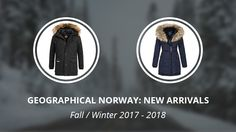 Geographical Norway: New Arrivals Fall - Winter 2017-2018