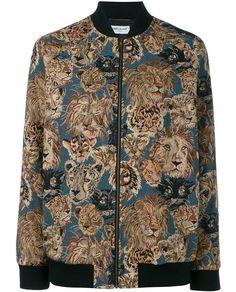SAINT LAURENT | Over-Sized Teddy Bomber Jacket