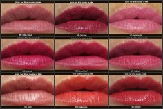 -: Revlon Just Bitten Kissable Lip Balm Stains Review and swatches http://ninasbargainbeauty.blogspot.ie/2012/08/revlon-just-bitten-kissable-lip-balm.html