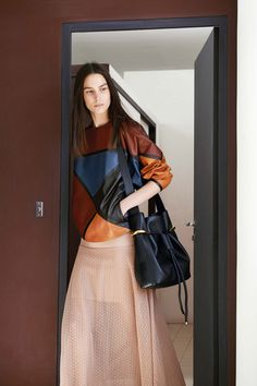Clare Waight Kellers homage to Corbusier for Chloé | Resort 2015 Collection