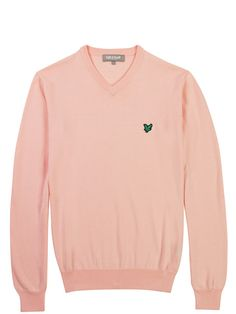 Lyle and ScottClub Cotton V-neck Sweater